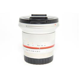 Used Samyang 12mm f/2 NCS CS Lens Fuji X Fit  thumbnail
