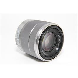 Used Sony E 18-55mm f/3.5-5.6 OSS Lens Silver  Thumbnail Image 1