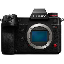 Panasonic Lumix S1H Full Frame Mirrorless Camera Body with cinema-quality video Thumbnail Image 0