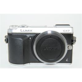 Used Panasonic GX7 Body Silver  thumbnail