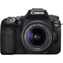 Canon EOS 90D DSLR Camera With 18-55mm IS STM Zoom Lens Kit thumbnail
