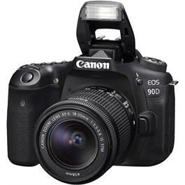 Canon EOS 90D DSLR Camera With 18-55mm IS STM Zoom Lens Kit Thumbnail Image 1