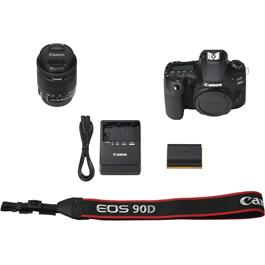 Canon EOS 90D DSLR Camera With 18-55mm IS STM Zoom Lens Kit Thumbnail Image 6