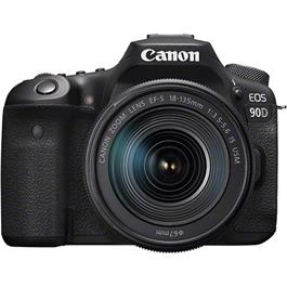 Canon EOS 90D DSLR Camera With 18-135mm IS USM Zoom Lens Kit Thumbnail Image 0