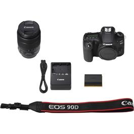 Canon EOS 90D DSLR Camera With 18-135mm IS USM Zoom Lens Kit Thumbnail Image 6