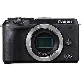 Canon EOS M6 Mk II Compact Mirrorless Camera Body - Black thumbnail