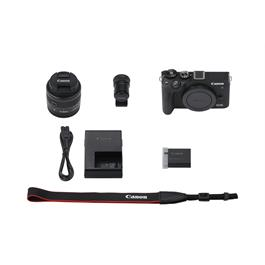 Canon EOS M6 Mk II Mirrorless Camera With 15-45mm Lens Kit - Black Thumbnail Image 6