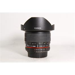 Samyang Used Rokinon 8mm F/3.5 Fish-eye CS II (Nikon Fit) Unboxed thumbnail