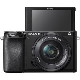 Sony Alpha a6100 Mirrorless Digital Camera Body & 16-50mm Lens Kit Thumbnail Image 2