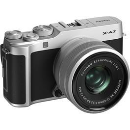 Fujifilm X-A7 Camera With Fujinon XC 15-45mm OIS PZ Lens Kit - Silver Thumbnail Image 2