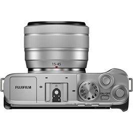Fujifilm X-A7 Camera With Fujinon XC 15-45mm OIS PZ Lens Kit - Silver Thumbnail Image 4
