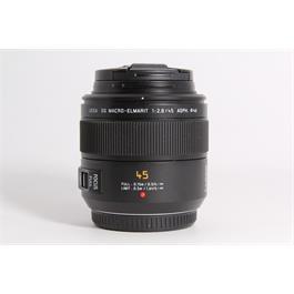 Used Panasonic 45mm DG Macro-Elmarit f/2.8 Macro Lens thumbnail