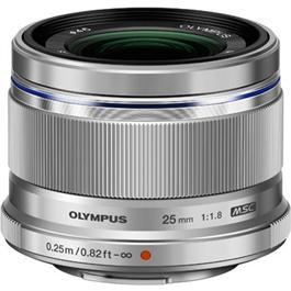 Olympus M.Zuiko Digital 25mm f/1.8 Lens - Silver thumbnail
