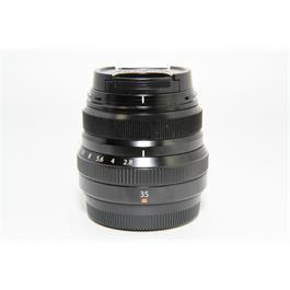 Fujifilm Used Fuji XF35mm F/2 R WR Lens Black  thumbnail
