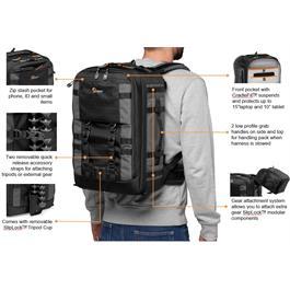 Lowepro Pro Trekker BP 350 AW II-Grey Backpack Thumbnail Image 6