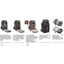 Lowepro Pro Trekker BP 550 AW II-Grey BackPack Thumbnail Image 7