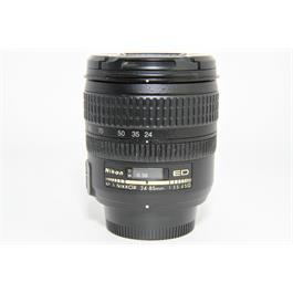 Used Nikon AF-S 24-85mm F/3.5-4.5G ED Lens  thumbnail