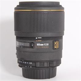 Used Sigma 105mm f/2.8 Macro - Nikon  thumbnail