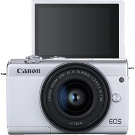 Canon EOS M200 + 15-45mm White Thumbnail Image 3