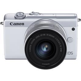 Canon EOS M200 + 15-45mm White Thumbnail Image 1