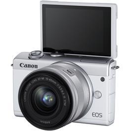 Canon EOS M200 + 15-45mm White Thumbnail Image 4