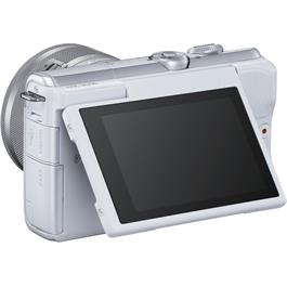 Canon EOS M200 + 15-45mm White Thumbnail Image 2