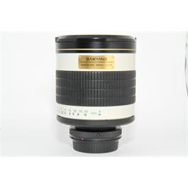 Used Samyang 500mm F/6.3 DX Mirror lens thumbnail