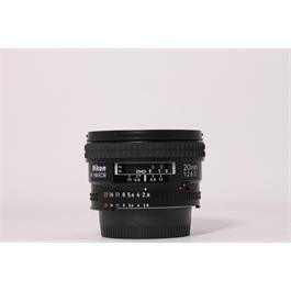 Used Nikon AF 20mm F/2.8D thumbnail