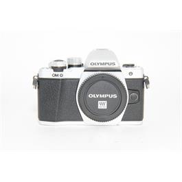 Used Olympus OMD E-M10 MK II Body Silver thumbnail