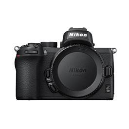 Nikon Z 50 Mirrorless Camera Body With FTZ Adapter Thumbnail Image 1