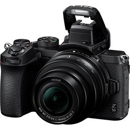 Nikon Z 50 Mirrorless Camera Body With FTZ Adapter Thumbnail Image 4