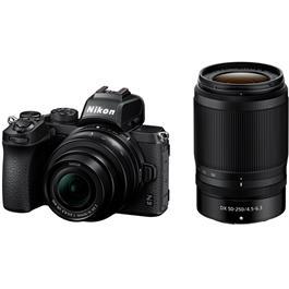 Nikon Z 50 Mirrorless Body With Nikkor Z DX 16-50 VR & 50-250 lens Thumbnail Image 1