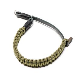 Leica Paracord Handstrap Black/Olive by COOPH thumbnail