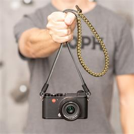 Leica Paracord Strap 126cm Black/Olive by COOPH