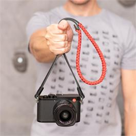 Leica Paracord Strap 100cm Black/Red by COOPH