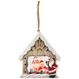 Swains Hanging Santa Grotto 7.5x5 cm thumbnail