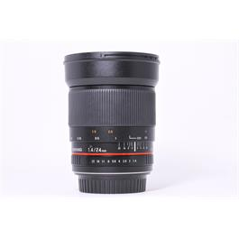 Used Samyang 24mm f/1.4 ED AS IF UMC thumbnail