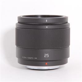 Used Panasonic 25mm f/1.7 thumbnail