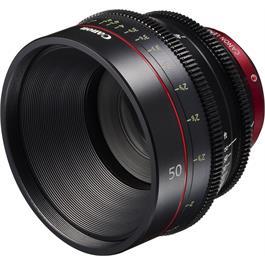 Canon CN-E 50mm T1.3 L F Cine Lens Ex Demo thumbnail