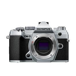 Olympus OM-D E-M5 Mark III Mirrorless Micro Four Thirds Camera Body - Silver thumbnail