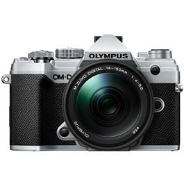 Olympus OM-D E-M5 Mk III with 14-150mm f/4-5.6 II Lens Kit - Silver thumbnail