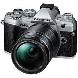 Olympus OM-D E-M5 Mk III And M.Zuiko 14-150mm f/4-5.6 II Lens Kit - Silver Thumbnail Image 1