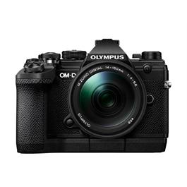 Olympus OM-D E-M5 Mk III with 14-150mm f/4-5.6 II Lens Kit - Black thumbnail