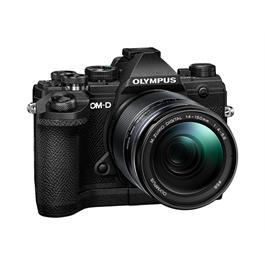 Olympus OM-D E-M5 Mk III And M.Zuiko 14-150mm f/4-5.6 II Lens Kit - Black Thumbnail Image 2