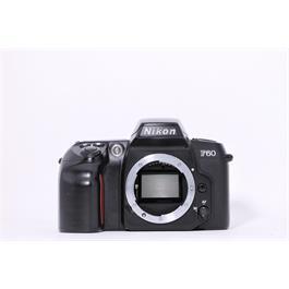 Used Nikon F60 body 35mm film camera thumbnail