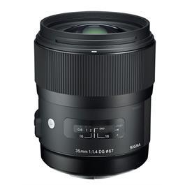 Sigma 35mm f/1.4 DG HSM | Art - Nikon F Open Box thumbnail
