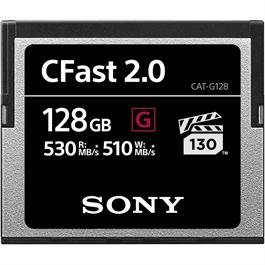 Sony CFast 2.0 128GB Read speed 530MB/s Write speed 510MB/s Open Box thumbnail