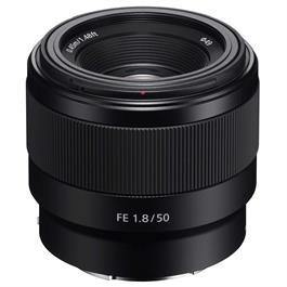 Sony FE Series 50mm F1.8-Ex Demo No Lens Hood thumbnail