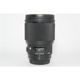 Used Sigma 85mm f/1.4 DG Art Canon Fit thumbnail