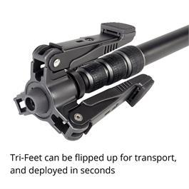 Vanguard Aluminium Monopod with 26mm Legs Tri-stand